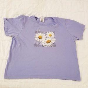 Light Purple Daisy T-shirt